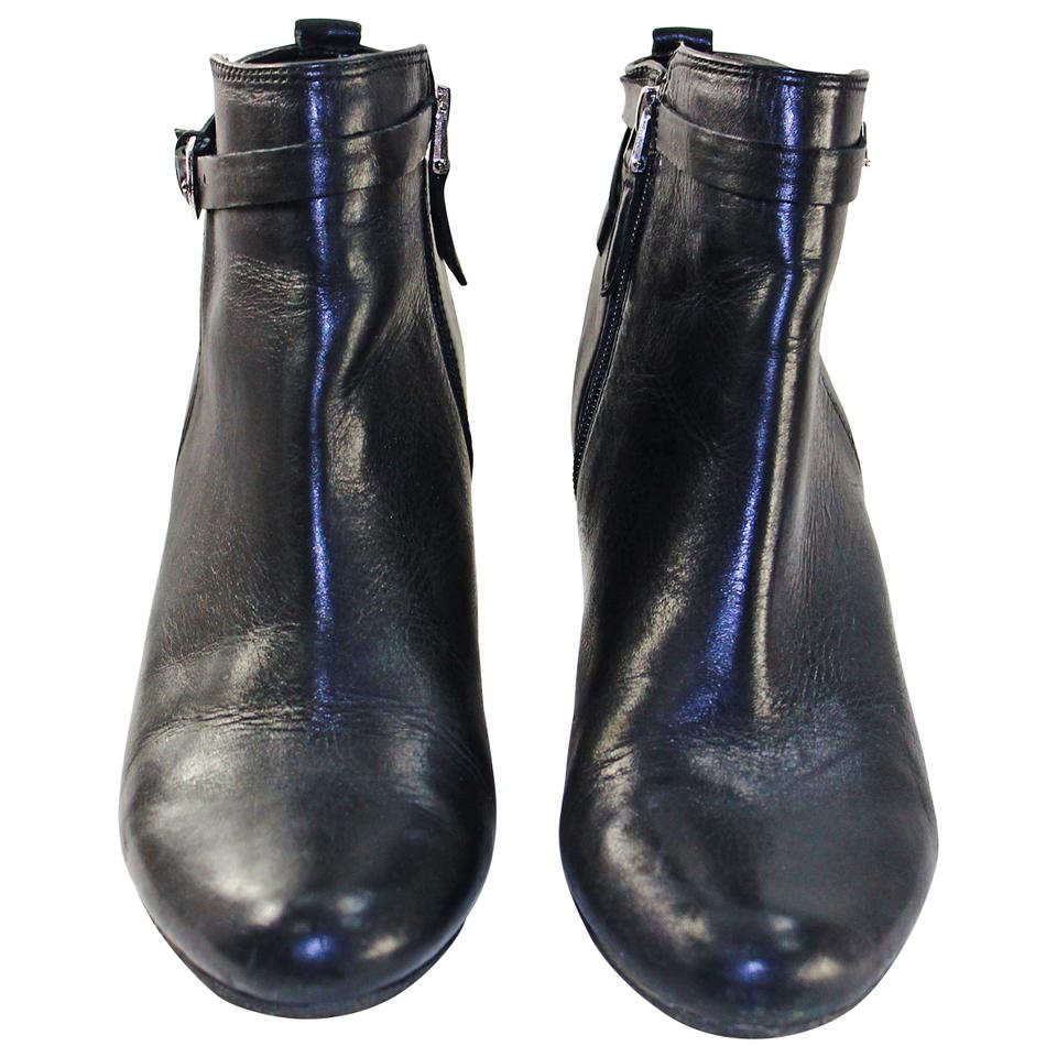 b2fa94b6d Sam Edelman Black Pre-owned Maddox Leather Ankle Boots Booties Size ...