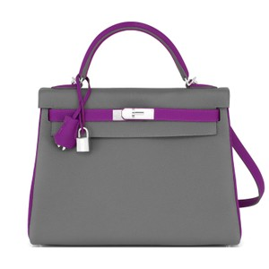 Hermès Kelly 32 Anemone Taupe Hss Kelly Horseshoe Shoulder Bag
