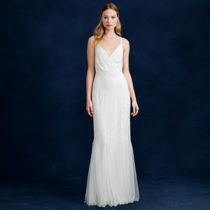 J.Crew Harper Mermaid Beaded Gown Wedding Dress