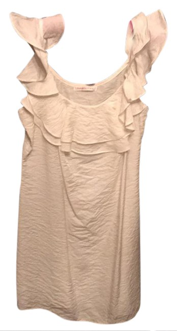 Preload https://item4.tradesy.com/images/white-crinkle-material-ruffle-short-casual-dress-size-6-s-20821383-0-1.jpg?width=400&height=650