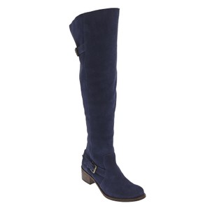Matisse Over The Knee Suede Suede blue Boots