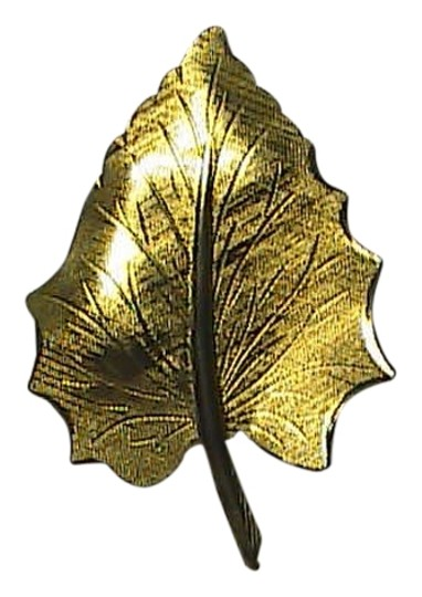 Preload https://item4.tradesy.com/images/gold-tone-leaf-brooch-2082143-0-0.jpg?width=440&height=440