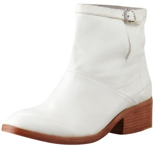 3.1 Phillip Lim Ankle Leather Ivory Boots