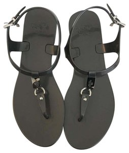 Coach On Sale! Charcoal Gray Sandals