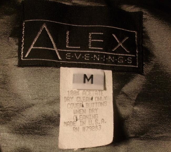 Alex Evenings Top Gray