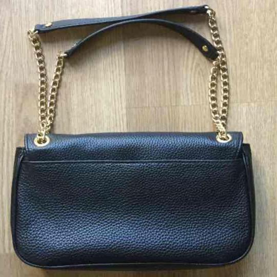 Michael Kors Leather Monogram Chain Shoulder Bag