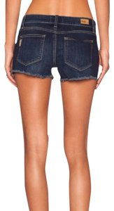 Paige Denim Cutoffs Jean Bobby Mini/Short Shorts dark denim