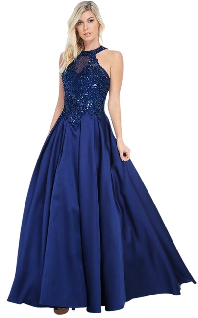 Preload https://img-static.tradesy.com/item/20821635/ag-studio-navy-cp8003-long-formal-dress-size-4-s-0-1-650-650.jpg