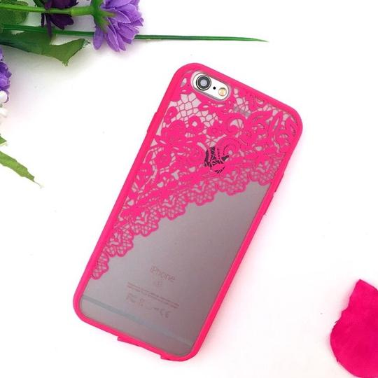 New Hot Pink Lace IPhone 6/6s Case Hot Pink Lace IPhone 6/6s Case