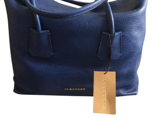 Burberry Tote in Royal Ocean