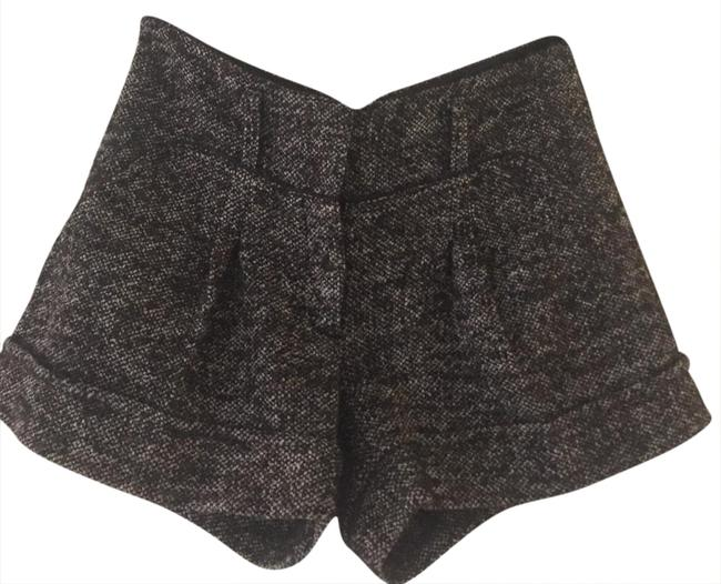 Preload https://img-static.tradesy.com/item/20821666/bcbgmaxazria-black-tweed-cuff-shorts-size-2-xs-26-0-1-650-650.jpg