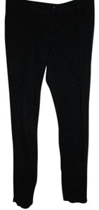 Old Navy Low Rise Stretch Zippered Ankles Straight Pants Black