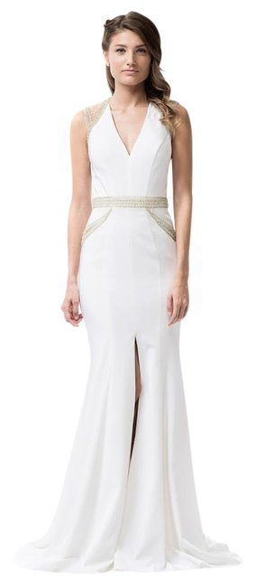 Preload https://img-static.tradesy.com/item/20821707/ag-studio-white-cp8073-long-formal-dress-size-6-s-0-1-650-650.jpg