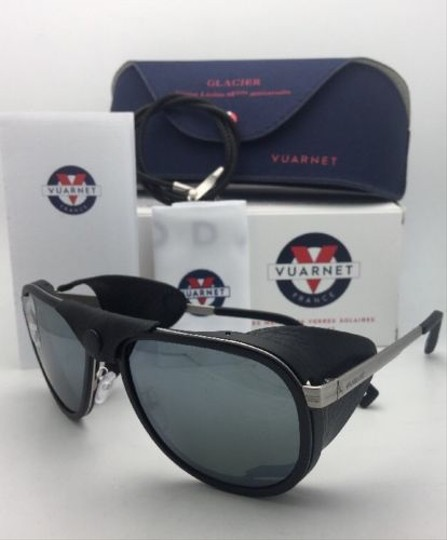 Vuarnet VUARNET Sunglasses VL 1315 0009 Black w/Leather Side Shields-Cord+Mirr