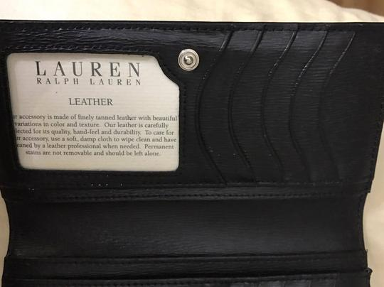 Ralph Lauren * Ralph Lauren Envelope Wallet in Lauren Black
