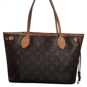 Louis Vuitton Tote in Original Brown canvas