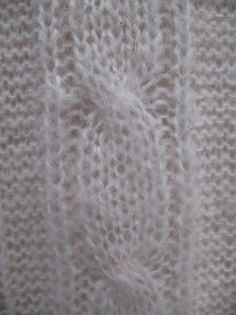 J.Crew Mohair Wool Cable Knit Sweater