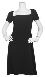 Dolce&Gabbana short dress Black D&g Dolce & Gabbana Short Sleeve Cap Sleeve on Tradesy