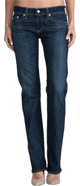Item - 6 Years Compass Wash Dark Rinse The Tomboy Blue Relaxed Boyfriend Cut Jeans Size 29 (6, M)