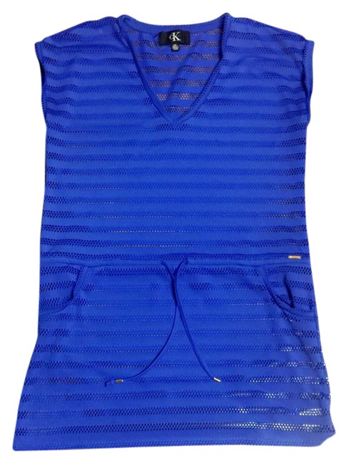 Preload https://item2.tradesy.com/images/calvin-klein-royal-blue-cover-upsarong-size-8-m-20822636-0-1.jpg?width=400&height=650