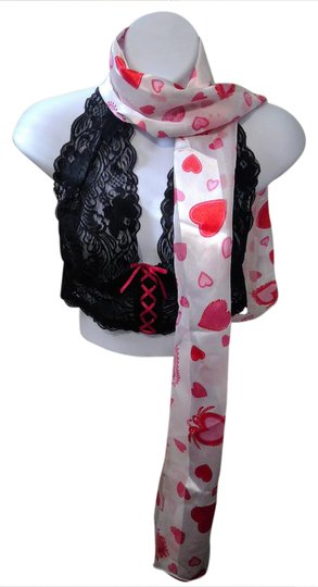 Preload https://item2.tradesy.com/images/red-and-white-hearts-scarfwrap-20822646-0-1.jpg?width=440&height=440