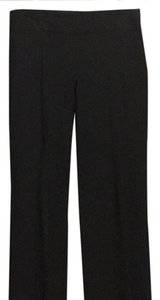 The Limited Wide Leg Pants charcoal pinstriped