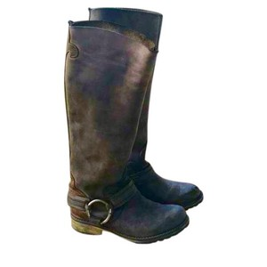 Steve Madden Black, Brown Boots