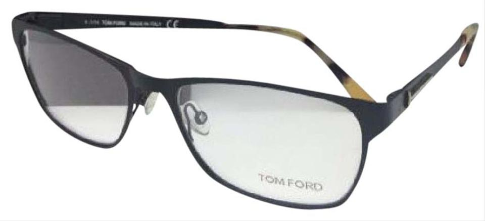 e476de2340 Tom Ford New TOM FORD Eyeglasses TF 5242 002 55-17 140 Matte Black ...