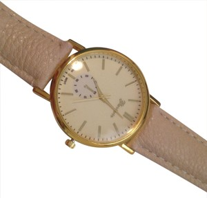 Geneva BOGO Your Choice Beige/Tan Rose Gold Quartz Ladies Watch