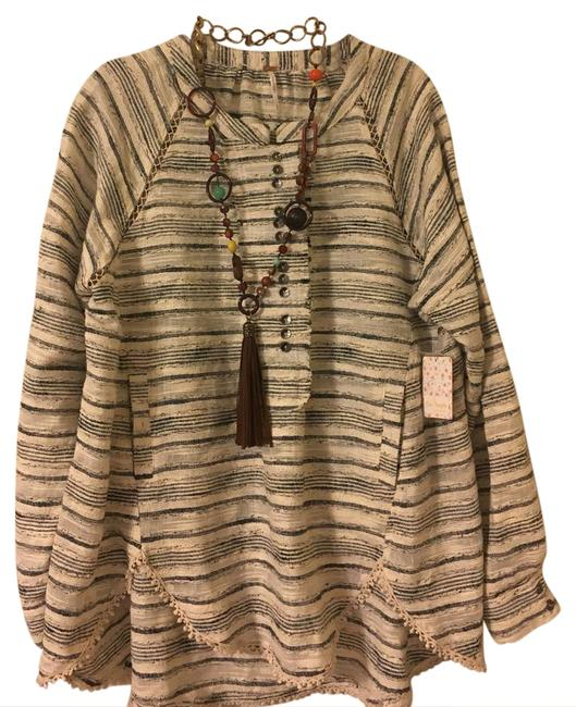 Preload https://item4.tradesy.com/images/free-people-natural-combo-oversize-tunic-size-6-s-20823048-0-1.jpg?width=400&height=650