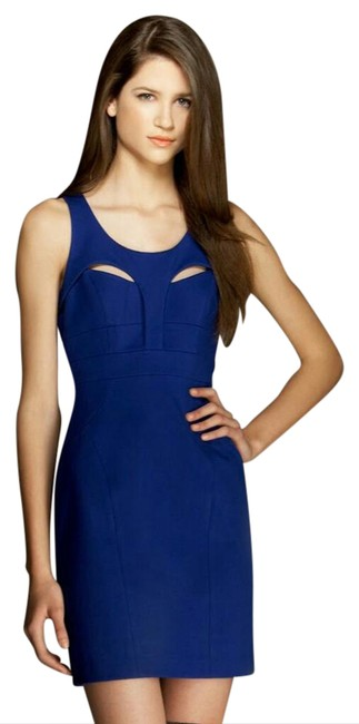 Cynthia Steffe Cut-out Shift Sheath Sleeveless Dress