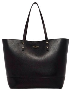 Cole Haan Basic Carryall Saffiano Tote in Black