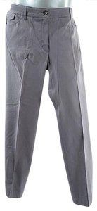 Brunello Cucinelli Cucinelli Gunex Narrow Leg Trouser Pants Taupe Grey