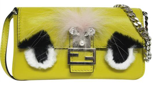Preload https://img-static.tradesy.com/item/20823109/fendi-new-micro-baguette-fur-messenger-lime-leather-cross-body-bag-0-1-540-540.jpg