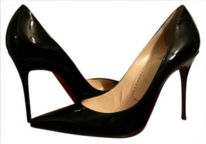 Christian Louboutin Heels Stiletto Decollete Black Pumps
