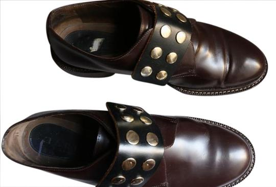 Preload https://img-static.tradesy.com/item/20823226/marni-dark-brown-gold-studded-pull-on-loafers-flats-size-us-10-regular-m-b-0-4-540-540.jpg