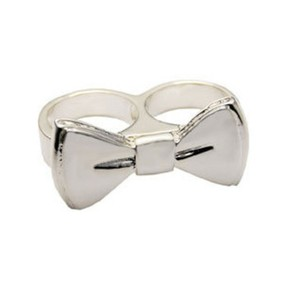 Erica Anenberg Erica Anenberg Twosome Ring in Sterling Silver 7/8