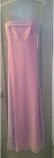 Jim Hjelm Occasions Lilac Chiffon Bridesmaid/Mob Dress Size 2 (XS)