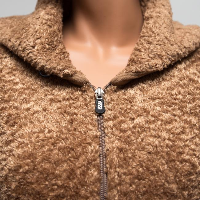 Patagonia 25730 Fleece Curly Sheen Brown Jacket