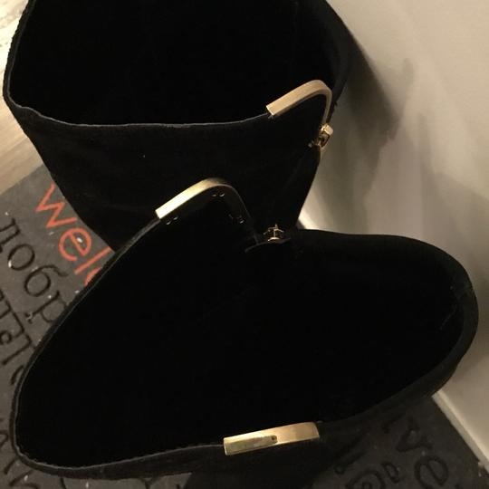 Marc Fisher Black Suede Boots