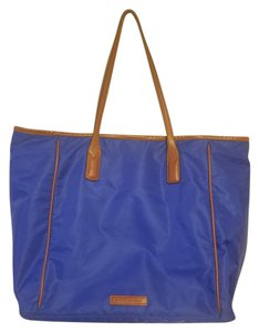Banana Republic Carryall Carry On Travel Weekend Tote in Blue