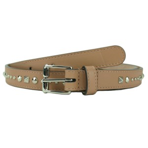 Gucci GUCCI 380561 Women's Camelia Studded Leather Belt 100-40