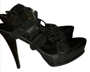 Guess By Marciano Black Sandals