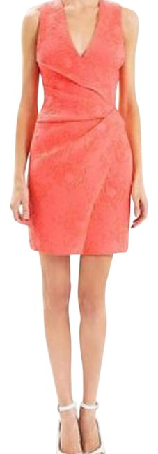 Preload https://img-static.tradesy.com/item/20823841/j-mendel-pink-coral-short-night-out-dress-size-2-xs-0-4-650-650.jpg