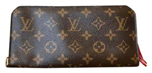Louis Vuitton Louis Vuitton Monogram Canvas Red Insolite Wallet