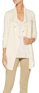 Theory Cardigan Trincy Open Cardigan Ivory Cardigan Casual Glamour Sweater