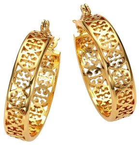 Tory Burch Tory Burch Kinsley Small Hoop Earrings