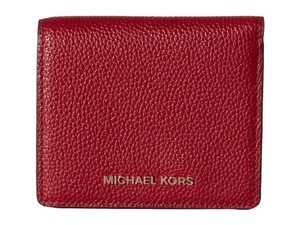 Michael Kors Michael Kors Mercer Carryall Card Case Cherry