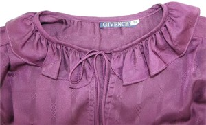 Givenchy Spring Summer Boho European Top Purple