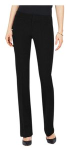 ecru Boot Cut Pants Black